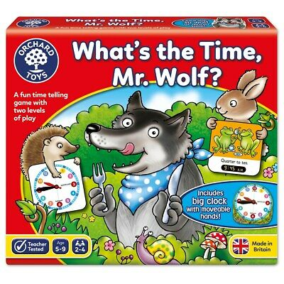 Orchard Toys What'S The Time, Mr. Wolf?  Number/Counting Toys • 10.25£