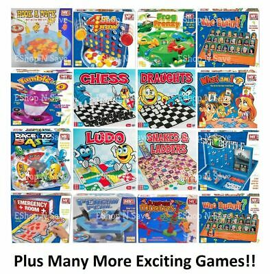 TRADITIONAL CLASSIC MODERN BOARD GAMES FULL SIZE Family Childrens Kids FUN  • 6.99£