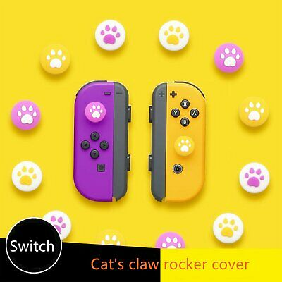 4Pcs Thumb Grips Cap Cover For  Switch/Switch Lite Joycon Joystick Game • 4.08£
