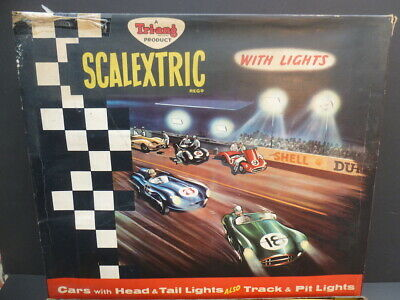 Scalextric Set CM34, Brilliant Complete Set And Great Condition, Box Has Issues • 325£