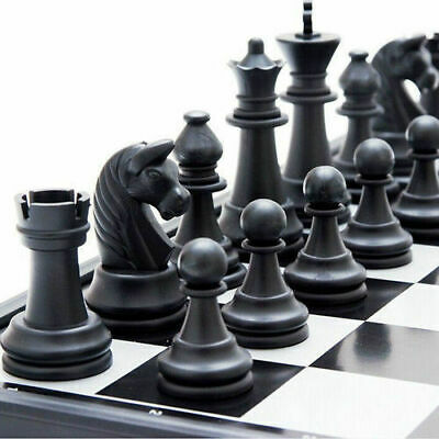 Large Magnetic Folding Chess Board Game Set/High Quality Chess Size 32 X 32cm • 14.95£