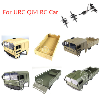 JJRC Q64 RC Car Spare Parts Body Cover/Rear Open-Topped Container/Axle Shaft • 20.06£