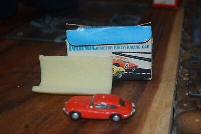 TRIANG MINIC MOTORWAY M1559 Jaguar E Type Excellent Boxed Condition Red  • 47£