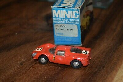 TRIANG MINIC MOTORWAY M1588 Ferrari 330 P4 Excellent Boxed Condition Red  • 42£