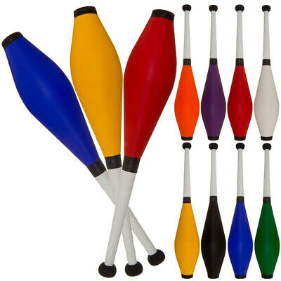 Juggling Clubs,  Set Of 3 Medium Air, Jac Products, Beginner Or Advanced • 19.50£