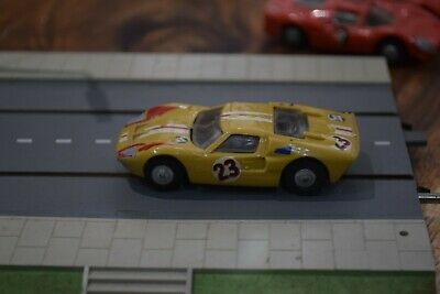 TRIANG MINIC MOTORWAY M1587 Ford Gt Mk11 Excellent Condition Working Motor   • 40£
