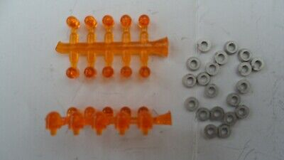 20 Amber Beacons. Truck, Lorry, Heavy Haulage. Plastic 1/50th Scale Code 3 • 7.50£