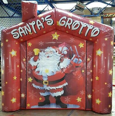 Inflatable  Santas Grotto For Sale  Brand New • 499£