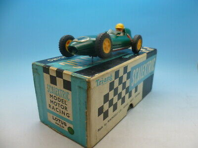 Scalextric C54 Lotus In Green And Boxed • 65£