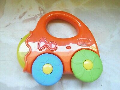 Vintage*Chicco Toy Car*Sounds*Rattle • 4.95£