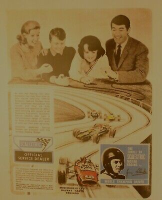 Scalextric Catalogue 8th Edition Copies In Folder 24 Pages • 10.75£
