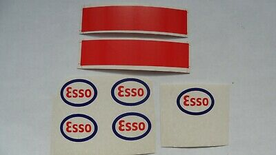Dinky 945 AEC Esso Tanker Stickers, Decals. Repro Waterslide Transfers. • 2£