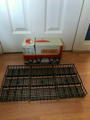 Matchbox Lesney 1979 Vintage 36 Car Carry Case Truck Box With 3x Trays NO CARS • 29.99£