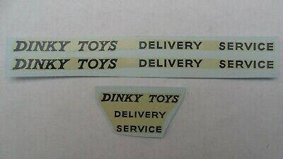 Dinky 982 Bedford Pullmore Transporter Delivery Service Decals. Repro Transfers. • 3£