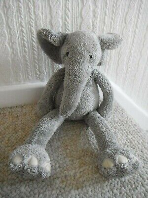 Jellycat  Soft Toy Slackajack  Silver Grey Elephant   Approx 12  High      • 12.99£