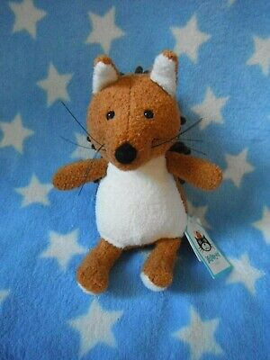 Jellycat Soft Toy I Am Small Noodle Squrrel  Approx 6  High  • 12.99£