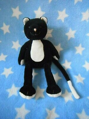 Rare  Jellycat  Small Black  Cat Soft Toy  Approx 9  High        R • 17.99£