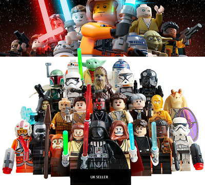 Lego Compatible Star Wars Mini Figures • 3.79£