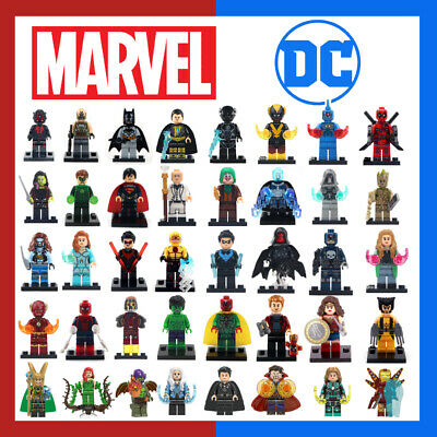 Lego Compatible Marvel + Dc Mini Figures • 3.69£