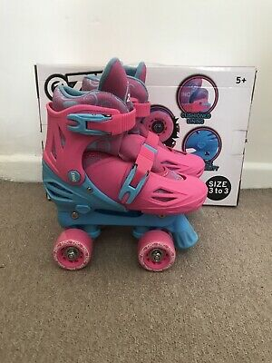Zinc Adjustable Quad Skates Size 13-3 • 29.99£