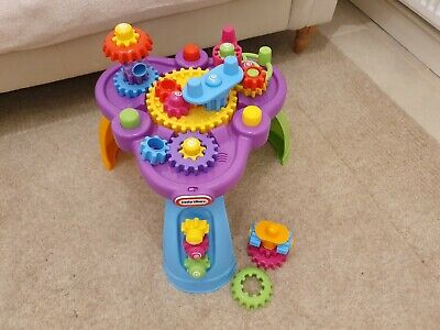 Little Tikes Giggly Gears Twirl Table Playset Cogs Activity Centre Standing Fun • 20.10£