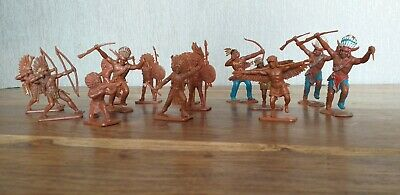 Cresent Indians X 14 Pieces. Good Condition For Age. • 20£