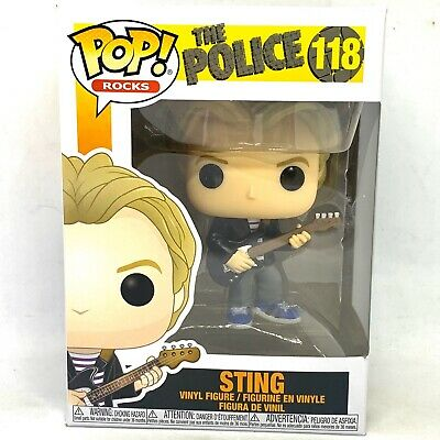 Funko Pop! The Police 118 - Sting • 7.99£