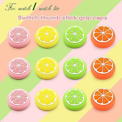 Cute Silicone Sweet Fruits Joystick Thumb Grip Caps For Switch & Switch Lite • 3.23£