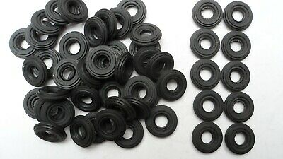 50 X Dinky Corgi Front Tractor Reproduction Black Tyres, 18mm Diameter.  • 10£