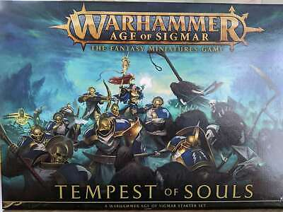 Warhammer Aos The Fantasy Miniatures Game Tempest Of Souls • 45£