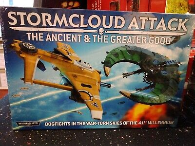 Games Workshop 40K Stormcloud Attack The Ancient & The Greater Good • 147.50£
