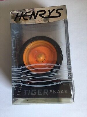 YoYo Henrys Tiger Snake- Professional High Speed Yo-yo- Black/ Orange • 10£