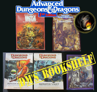 DUNGEONS & DRAGONS D20 Box Sets FORGOTTEN REALMS 2nd D&D AD&D RPG R5 • 12.50£
