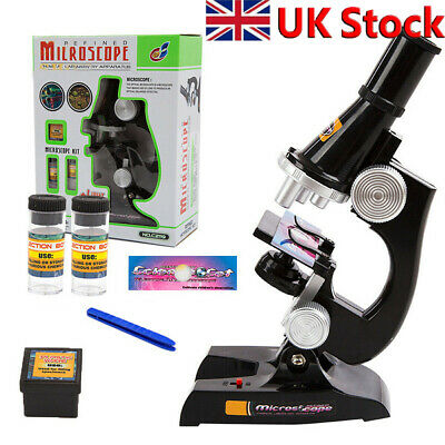 Children's Kids Junior Microscope Science Lab Set Education Education Toy New • 13.27£