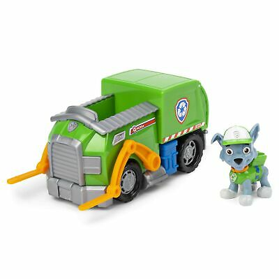 PAW Patrol Rocky's Recycling Truck Includes Pup & Vehicle Brand New  • 21.99£