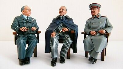 King And Country DD106 - The Big Three - Churchill, Stalin, Roosevelt - Boxed • 185£