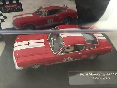 Carrera 25713 Ford Mustang GT 350 Historic Racer • 67.99£