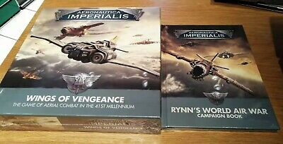 Aeronautica Imperialis Wings Of Vengeance & Rynn's World Air War Campaign Book • 65£