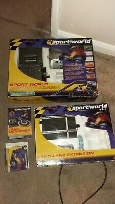 Scalextric Sport World And Multi Lane Extension • 35£
