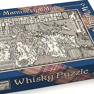 Whisky Map Jigsaw Puzzle - 1000 Pieces • 30£