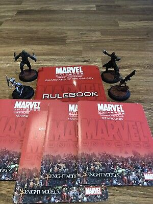 Knight Models Marvel Miniatures Game Guardians Of The Galaxy • 25£