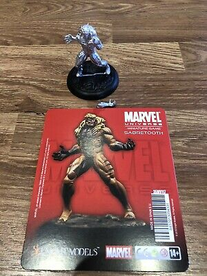 Knight Models Marvel Miniatures Game Sabretooth • 18£