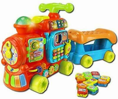 VTech Baby Push And Ride Alphabet Train Push Along Toy | Musical Baby Toy With & • 47.12£