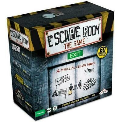 Escape Room The Game 4 Room Plus Chrono Decoder NEW BY 2 P.M. • 29.95£