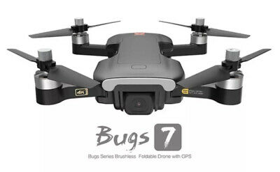 Drone Bugs B7 7 MJX 4K Camera 5G Wifi Brushless Optical Flow! Next Day Delivery! • 167.99£