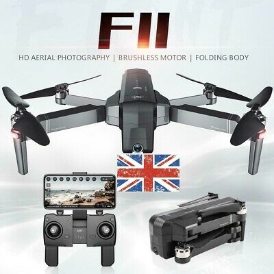 SJRC F11 GPS 5G WiFi FPV 1080P HD Cam Foldable Brushless RC Drone RC Quadcopter • 133.98£
