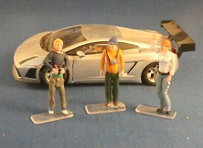 Carrera Figures For Scalextric Trackside Scenery.1:32 See Description • 21.75£