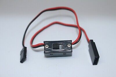 Switch R/C Battery Receiver On -Off  For Futaba & JR Connector Leads • 2.95£