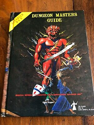 Advanced D & D Dungeon Masters Guide, Gary Gygax, Hardback • 25£