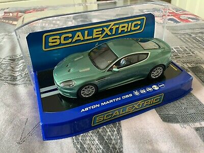 Scalextric C3089 Aston Martin DBS Green - Used - Mint Condition • 12.50£